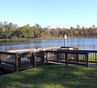 Florida RV Park with fishing
