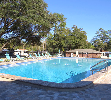 Florida RV Park Swimming Pool