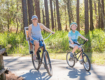 RV Park in Florida for Bike Riders